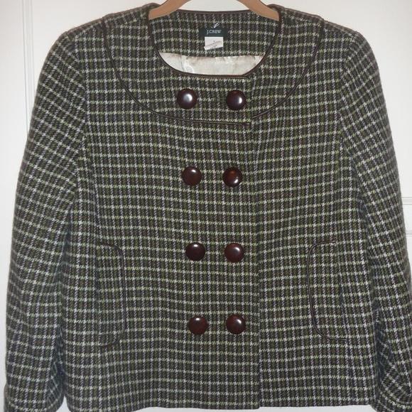 J. Crew Jackets & Blazers - J CREW Vintage Tweed Jacket Coat